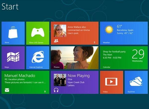 Предварительные продажи устройств на Windows 8 впечатляют