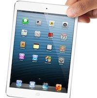 Все белые iPad mini, имеющиеся в наличии по предзаказам проданы за нескольких минут