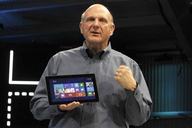 Стив Баллмер квалифицировал продажи Surface RT как «более чем скромные»