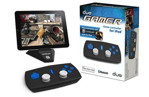 Duo Gamer выпустила беспроводной игровой контроллер для IPad и iPhone