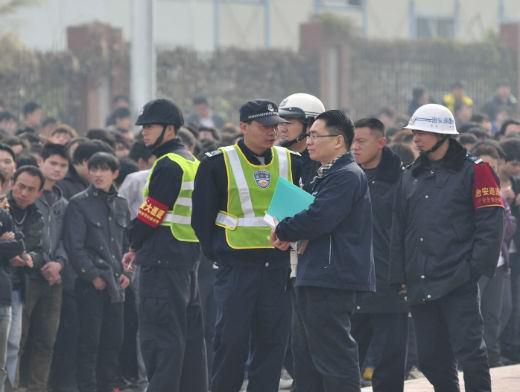 Забастовка сборочного производства iPhone 5 на Foxconn