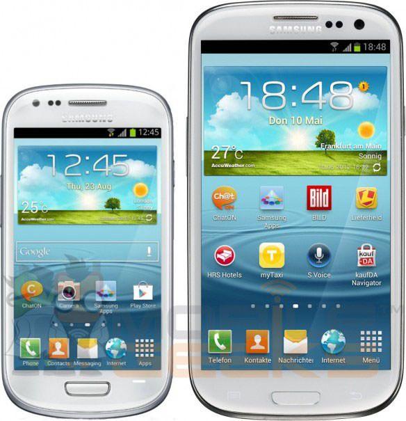Samsung Galaxy S III mini будет намного отставать от iPhone 5