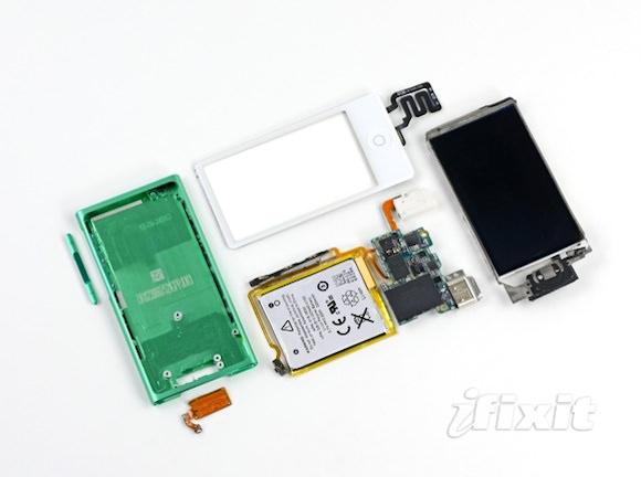 iFixit разобрали iPod nano 7 поколения. Что внутри?