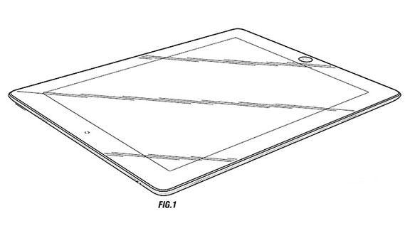 Apple получила патент на внешний вид iPad 2