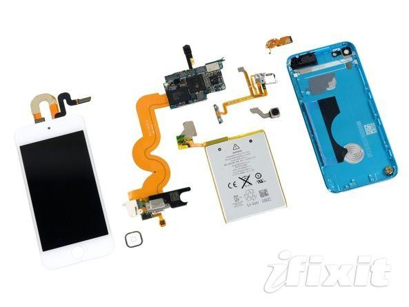 iFixit разобрали iPod Touch 5G. Что внутри?