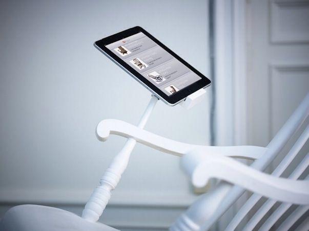 iRock - удивительное кресло с динамиками и зарядкой для iPhone или iPad