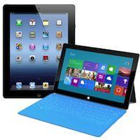 iPad 3 против Surface от Microsoft. Видеотест скорости загрузки