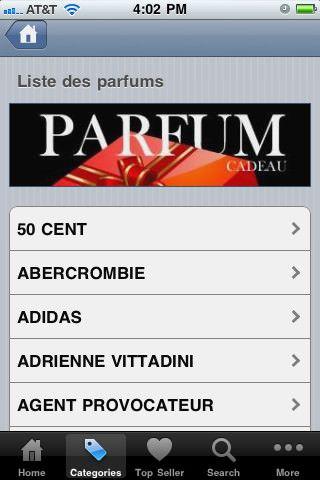 iParfum - Подбираем персональный аромат с помощью iPhone
