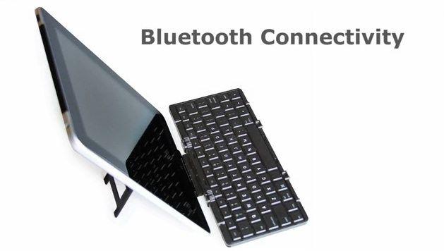 Карманная (складывающаяся) Bluetooth клавиатура Jorno для IPad и iPhone