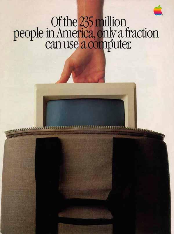 Когда не было YouTube: 12 лучших печатных рекламных компаний Apple прошлых лет