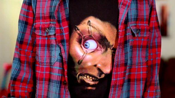 """Безумные """"живые"""" футболки с помощью iPhone"""