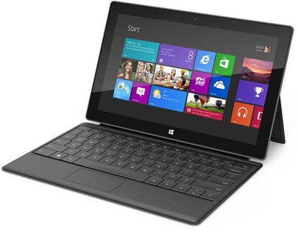 Microsoft объявила дату начала продаж планшетов Surface и их стоимость