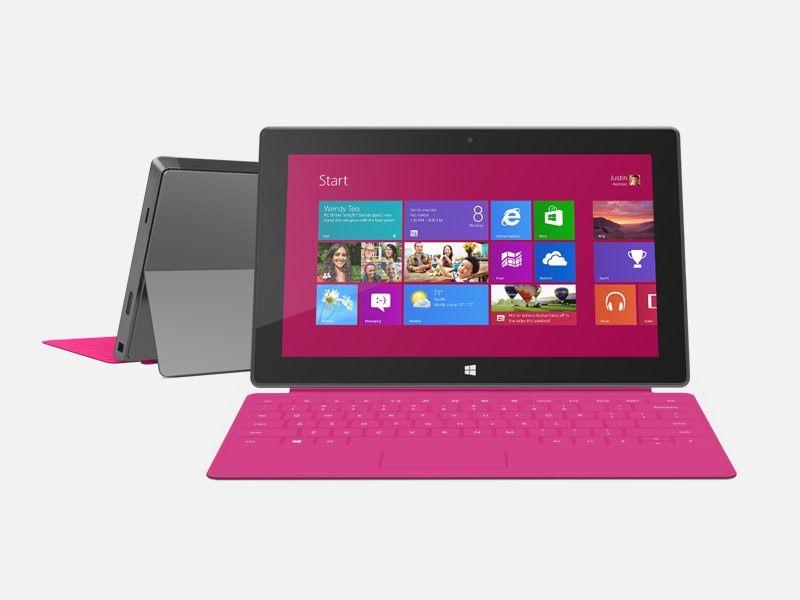 Microsoft представила первый коммерческий ролик планшета Surface