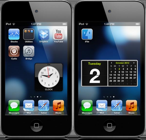 Джейлбрейк-твик iWidgets позволит добавлять HTML виджеты в iOS