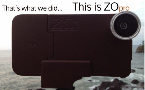 Компания SwipeCases представила чехол ZOpro для iPhone с зарядкой и возможностью макросъемки