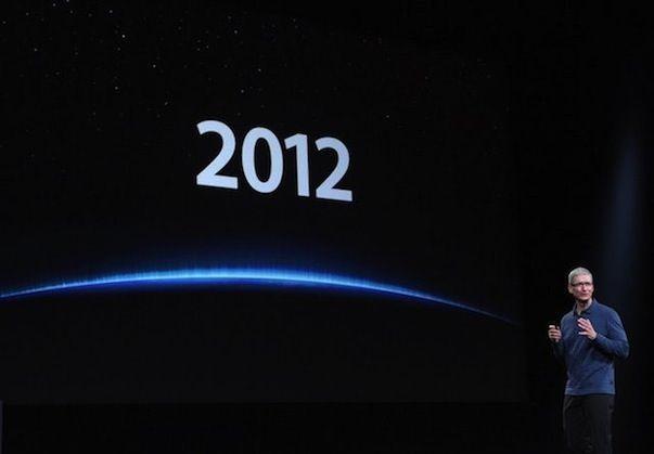 Почему 2012 год был самым важным за всю историю Apple?