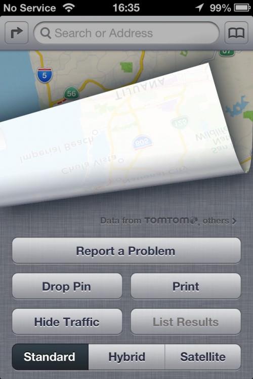 Apple просит пользователей о помощи в улучшении приложения Карты