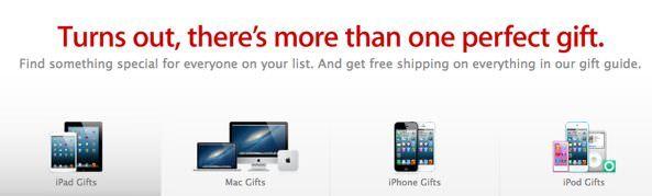 Apple готовится к праздничным распродажам, выбирайте подарки!