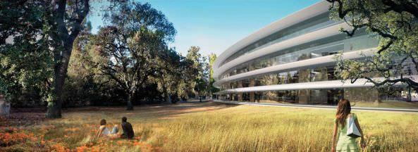 Будущий кампус Apple