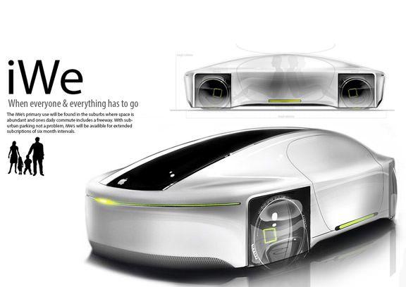 iGo - очередной концепт автомобиля Apple