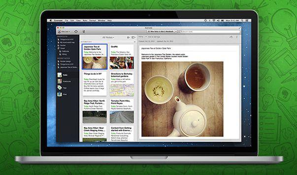 Скачать Evernote 5 beta для Mac + 100 нововведений