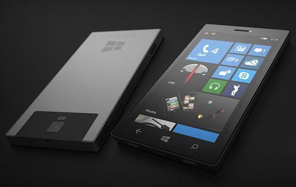 Смартфон от Microsoft. Скоро