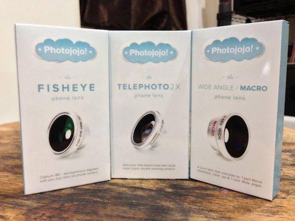 Photojojo представила комплект линз для iPhone с возможностью съемки в режимах: макро, рыбий глаз и телефото