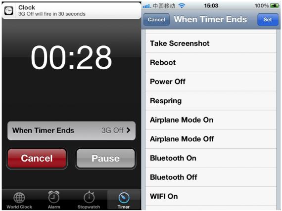 Джейлбрейк-твик TimerPlus расширит функционал стандартного таймера