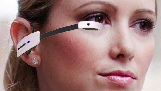 """Очки """"Терминатора"""" (дополненная реальность) Smart Glasses M100 от Vuzix"""