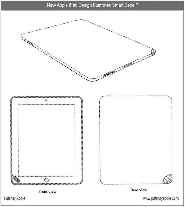 Apple получила важный патент на конструкцию iPad
