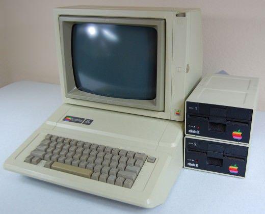 Эволюция устройств Apple. Компьютер Apple IIe. 1981 год. (Выпуск 5)