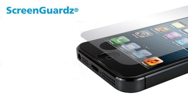Защитная пленка Bodyguardz - Screenguardz HD Anti-glare/Anti-fingerprint для iPod Touch 5G