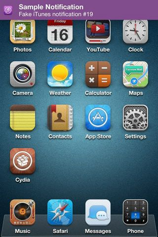 Джейлбрейк-твик FlagPaint изменит цвет банеров уведомлений на iPhone или iPad