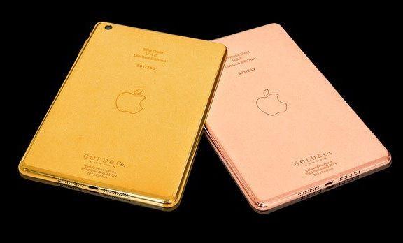 В сети появились фотографии золотого iPad mini
