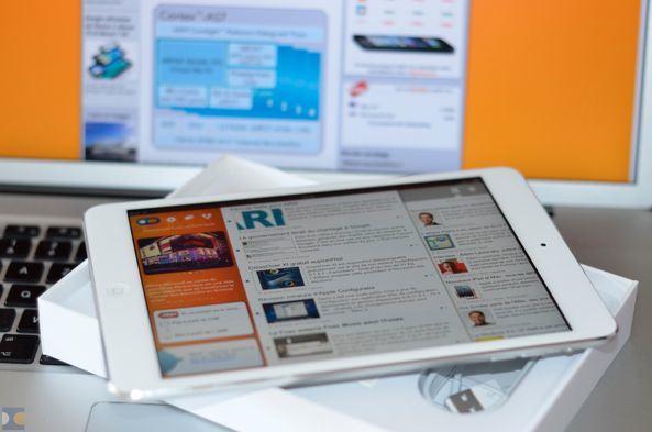 Первые фото распаковки iPad mini