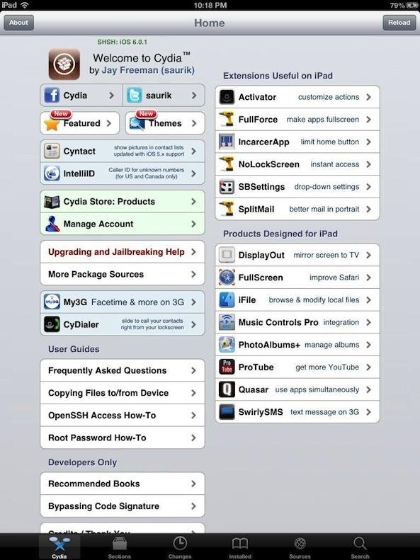 Хакер Chpwn получил джейлбрейк iPad 4