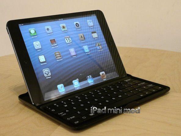 Чехол-клавиатура для iPad mini превращает планшет в Macbook