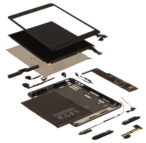 Базовая модель iPad mini продается за 9 при себестоимости комплектующих 8