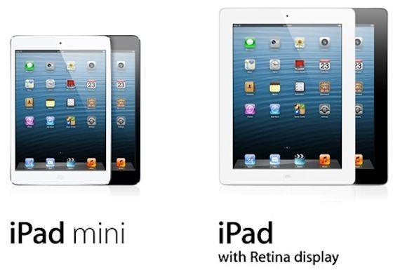 Сегодня стартовали продажи iPad mini и iPad 4 в 34 странах мира