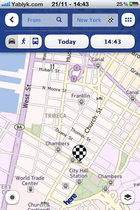 Карты Nokia не угодили владельцам iPhone и iPad