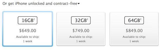 Купить разлоченный iPhone 5 уже можно во всех App Store США