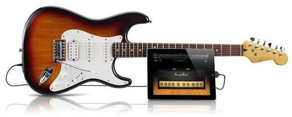 Fender выпустила гитару для iPad и iPhone