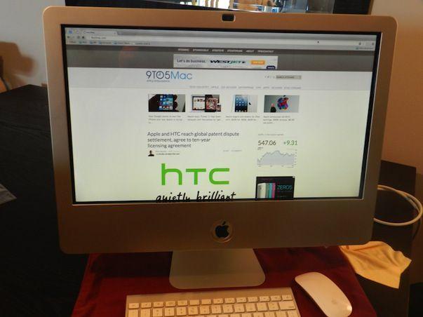 Сенсорный iMac? Это возможно с рамкой Zorro Macsk от компании TMDtouch