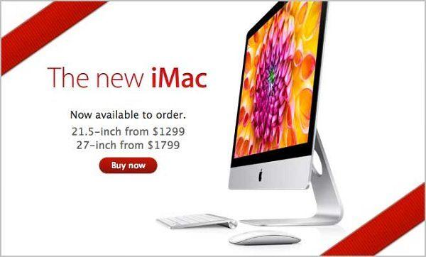 Новые iMac