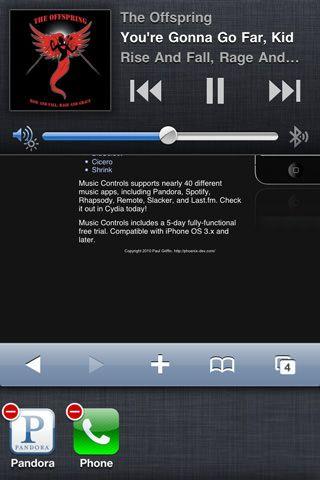 Джейлбрейк-твик Music Controls Pro добавит более удобное управление плеером в iOS