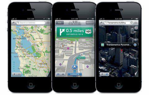 Карты Google для iPhone
