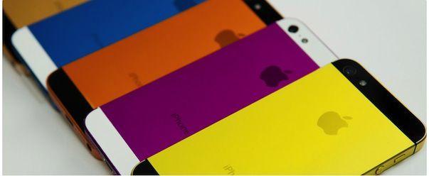 Anostyle предлагает iPhone 5 всех цветов радуги