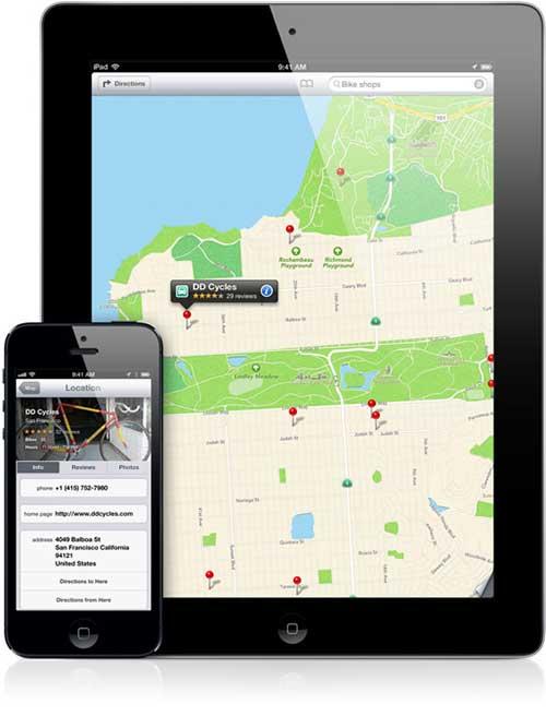 Социальная сеть Foursquare будет улучшать карты Apple