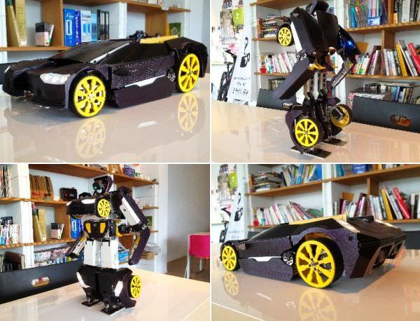 В Японии поступила в продажу игрушка-трансформер с дистанционным управлением за  000