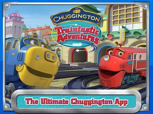 Игра Паровозики из Чагингтон для iPhone и iPad